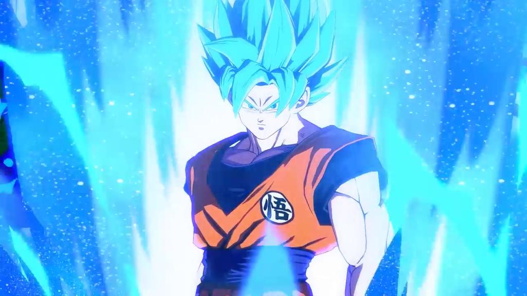 Goku Super Saiyan Azul