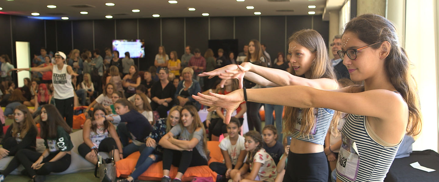 Audiciones en Barcelona de la Just Dance World Cup