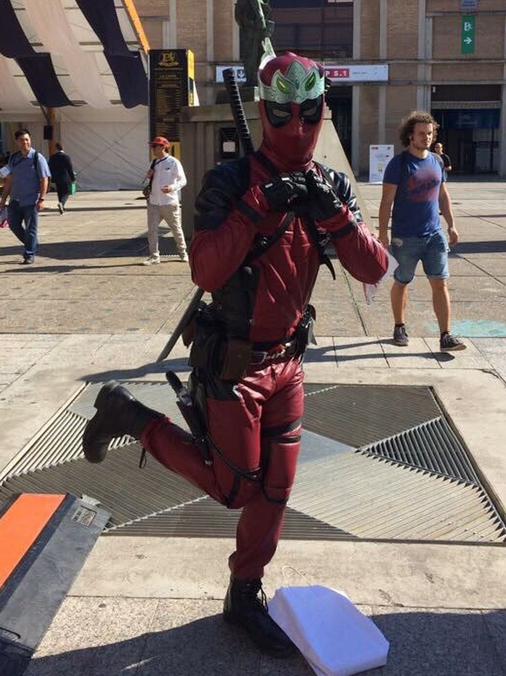 El mundo del cosplay invade Barcelona Games World