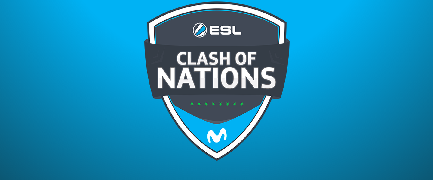 ¡Sigue en directo el ESL Clash of Nations by Movistar!