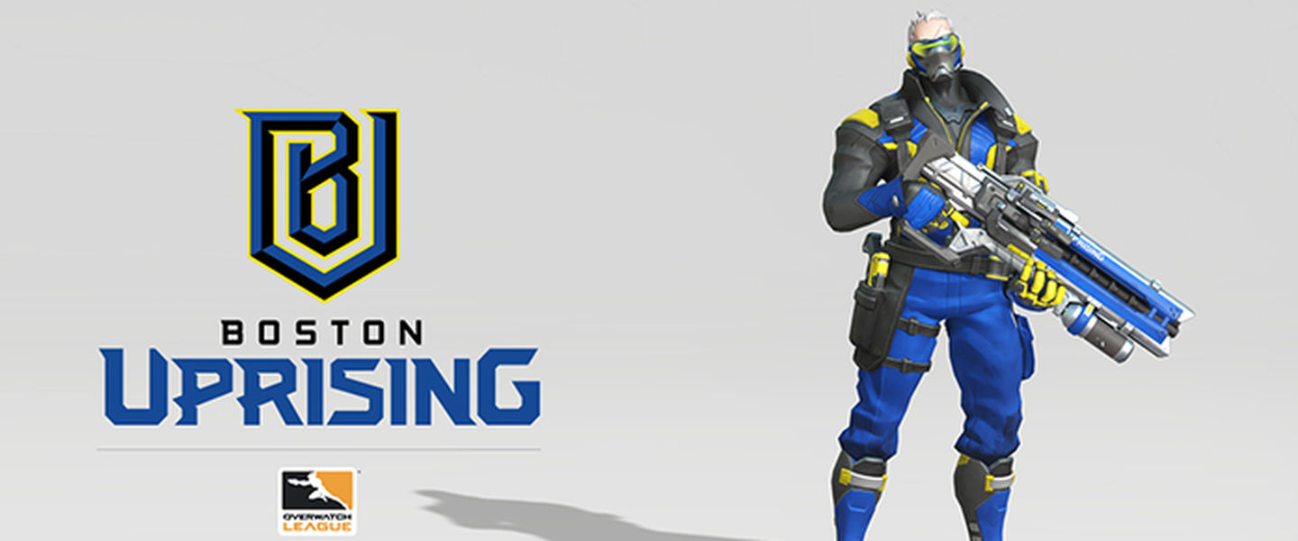 Boston Uprising es la franquicia del Grupo Kraft en la Overwatch League