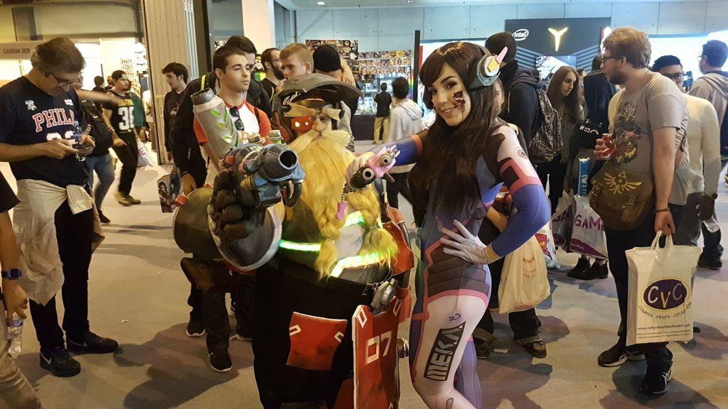 El mundo del cosplay toma la Madrid Gaming Experience
