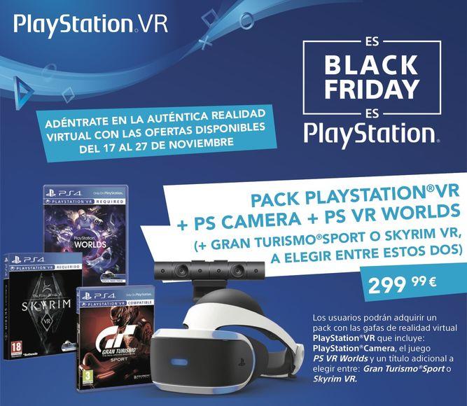 Black Friday Ofertas En Playstation Vr Y Juegos De Ps4