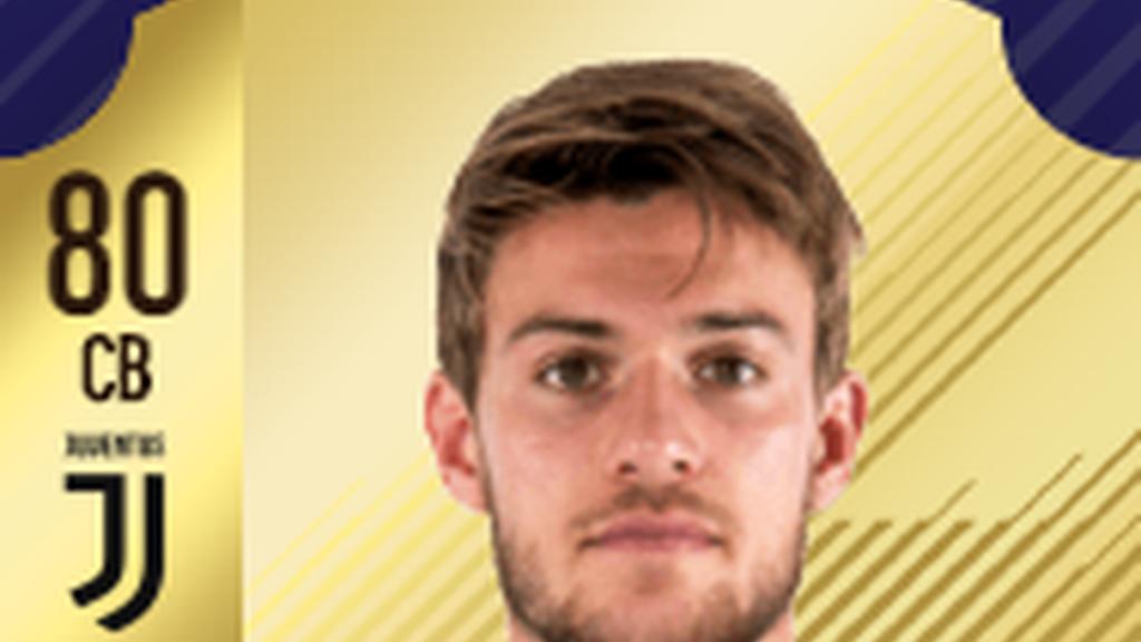 Defensa: Daniele Rugani - Juventus - Serie A