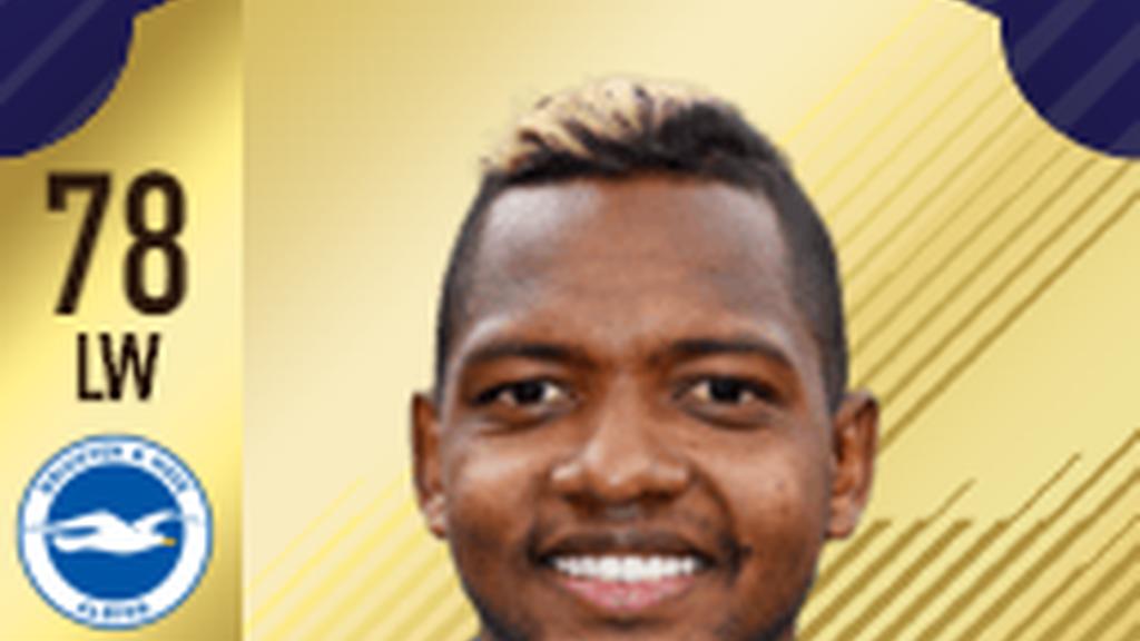 Delantero: José Izquierdo - Brighton - Premier League