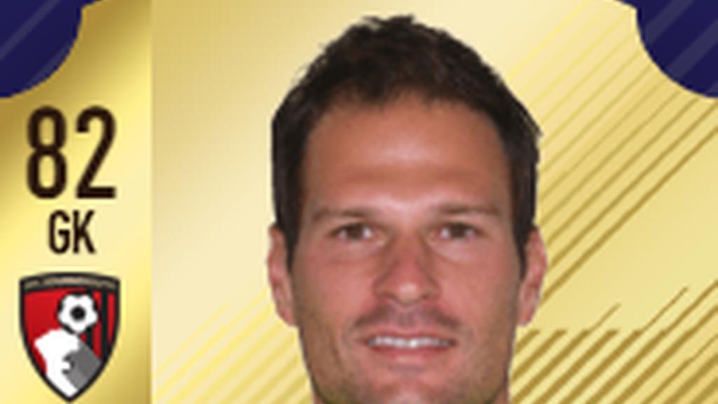 Portero: Asmir Begovic - Bournemout - Premier League