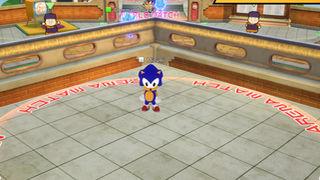 Avatar de Sonic para la sala principal
