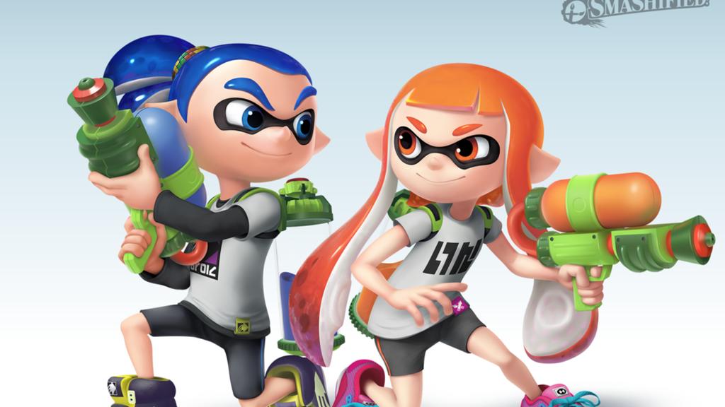 Inklings - Splatoon | Los carismáticos protagonistas de una de las últimas grandes sagas de Nintendo estarán casi seguro de forma oficial en el nuevo Smash. No por nada son los protagonistas del primer trailer.