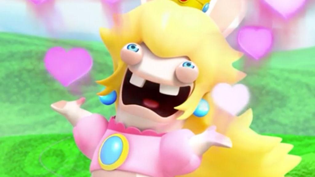 Rabbid Peach - Mario + Rabbids Kingdom Battle | Una de las grandes sorpresas del pasado año fue el 'spinoff' que juntó el universo Mario con los Rabbids de Ubisoft; y en esta genial locura destacaba la Peach Rabbid, que con su personalidad arrolladora sería seguro uno de los favoritos del público en este nuevo Smash.