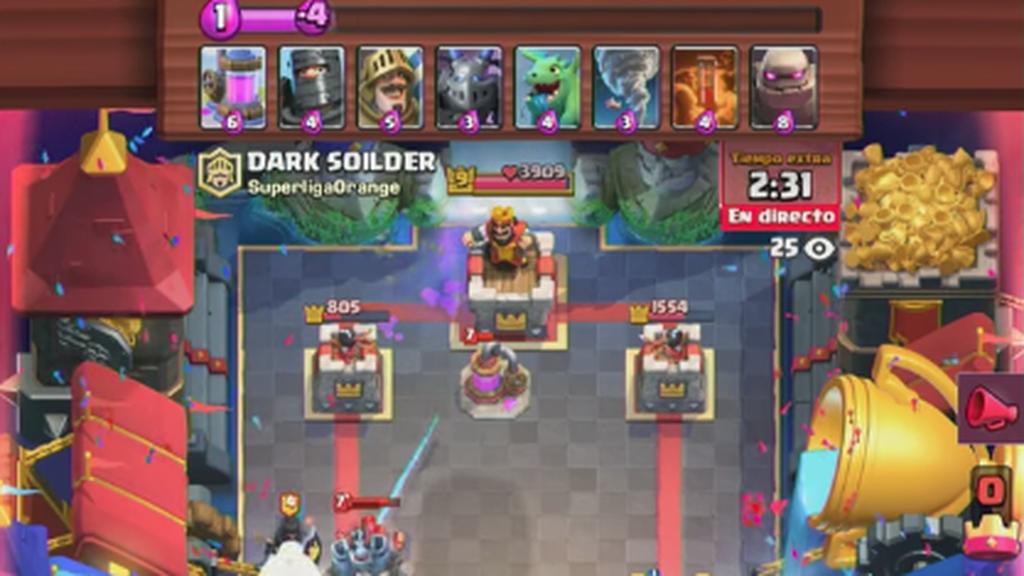 Dark Soilder, jugador de Arctic