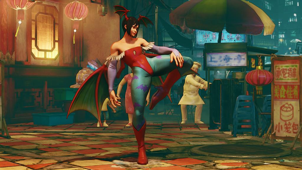 Aspecto de Lilith(Juri): Parte de la energía de uno de los personajes más reconocibles de la saga, Morrigan, forma parte de Lilith.