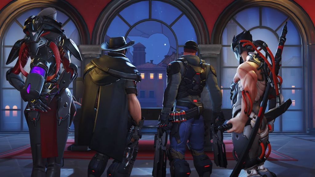 Las skins de Overwatch Retribution