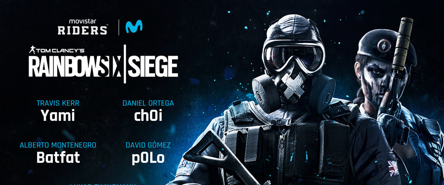 Movistar Riders presenta su equipo de Rainbow Six
