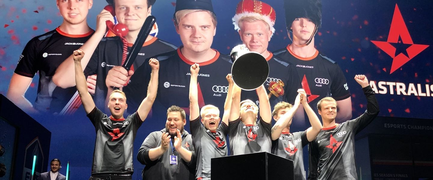 Astralis sigue dominando Counter-Strike y conquista la ECS