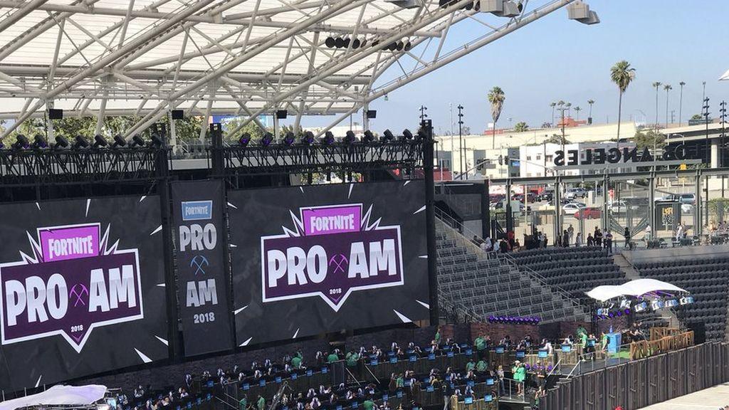 Las mejores imágenes del Fortnite Pro-Am de Los Ángeles