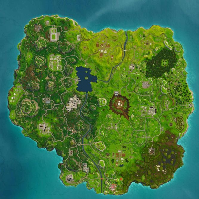 As 237 Cambiar 225 El Mapa De Fortnite
