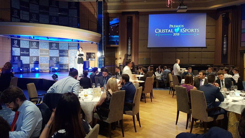 Las mejores fotos de los premios Cristal eSports