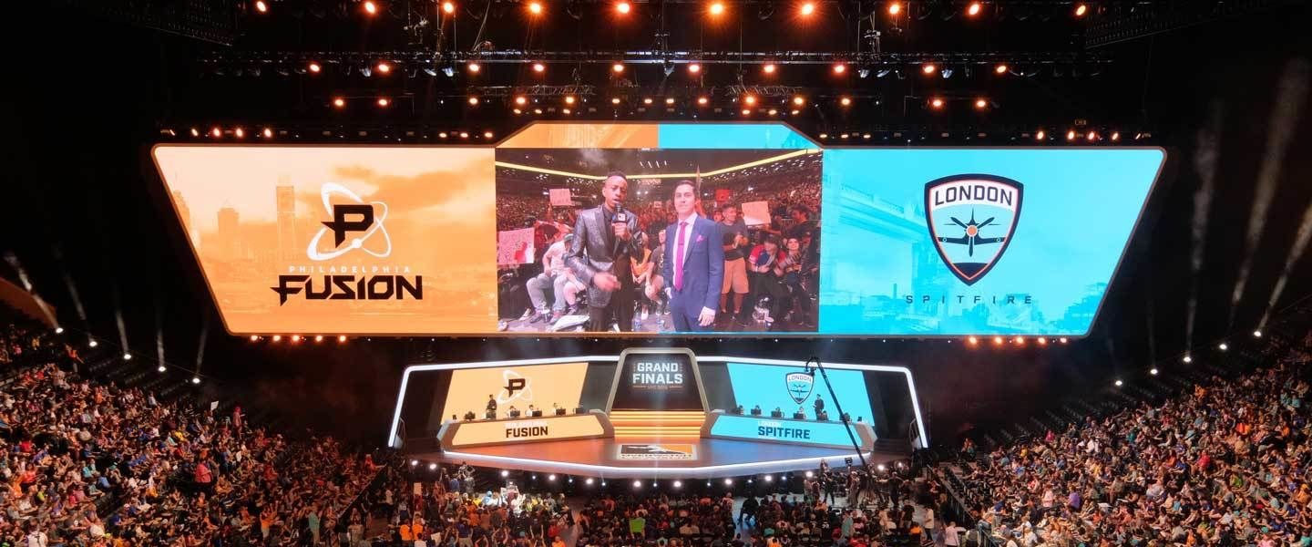 Modestas audiencias en la final de la Overwatch League