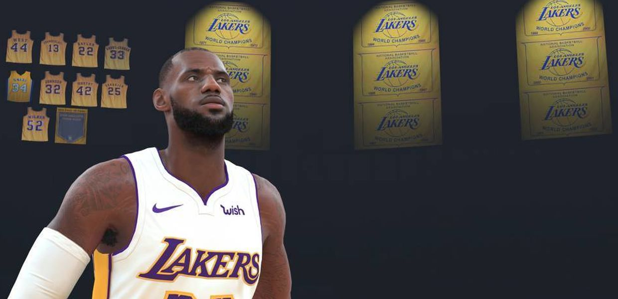 Los Lakers buscarán a su LeBron James en la NBA 2K League