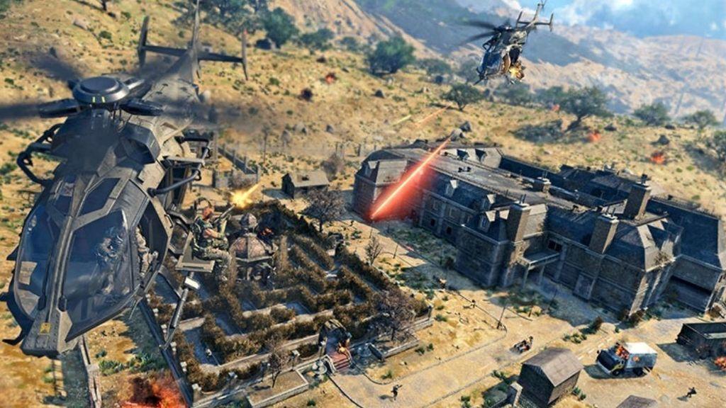 Así será el mapa de Blackout, el battle royale de Call of Duty: Black Ops 4