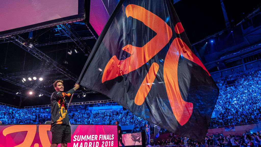 La bandera de Fnatic ondeó alto en la final