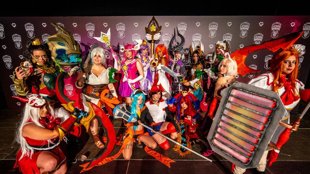 Los cosplays también se lucieron en Vistalegre