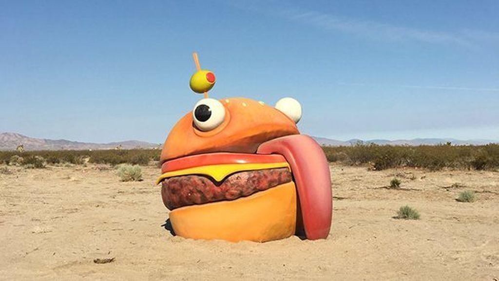 La hamburguesa de Fortnite que apareció en la vida real