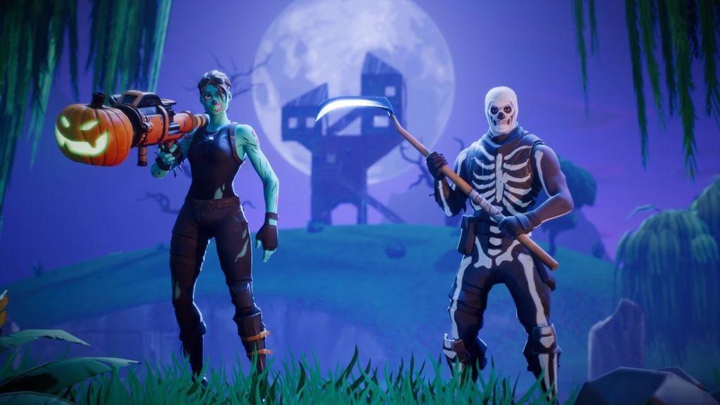 La mítica skin de esqueleto de Hallowen