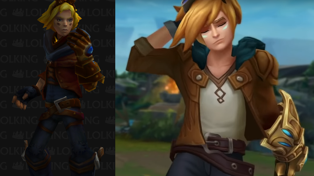 Aspecto base de Ezreal