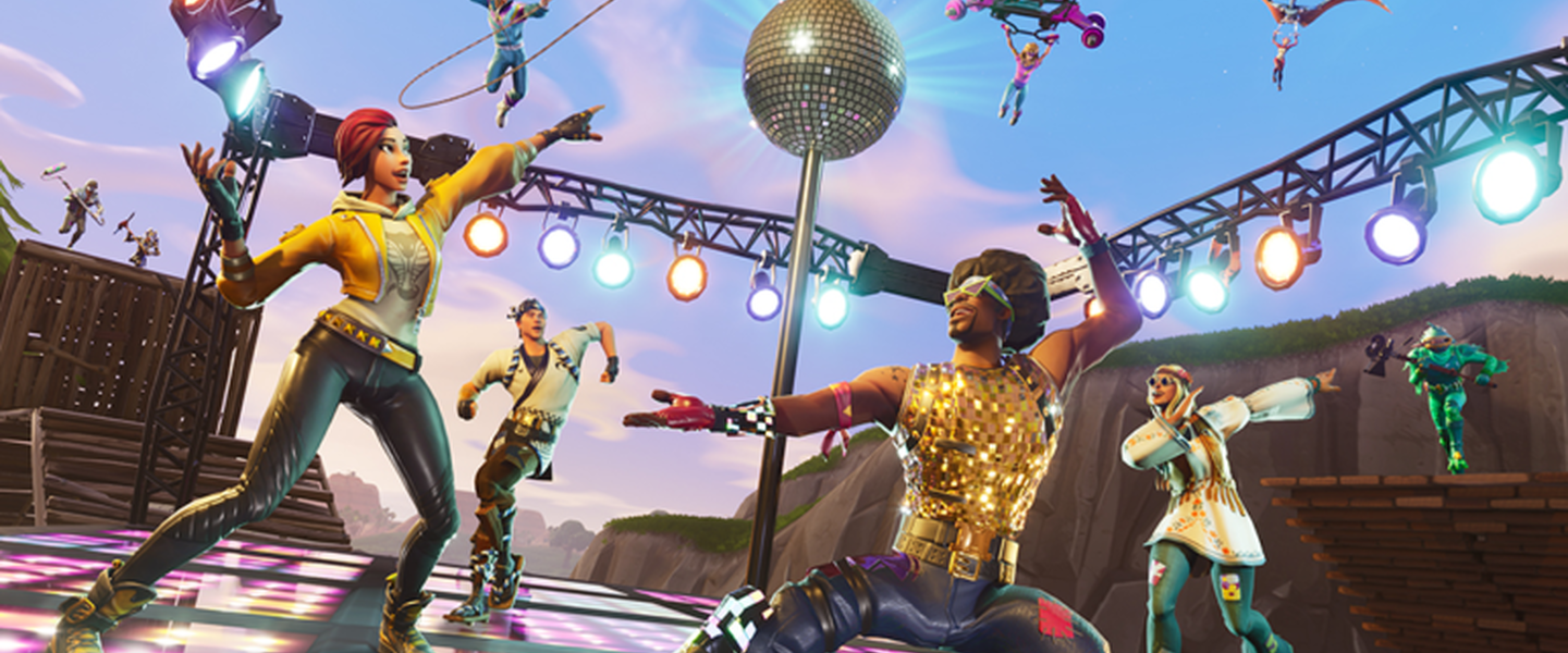 Disco Dominación: El modo de captura la bandera al estilo Fortnite