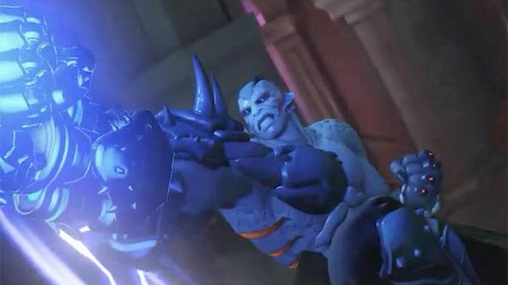 Doomfist recibe una nueva Halloween Terror  skin