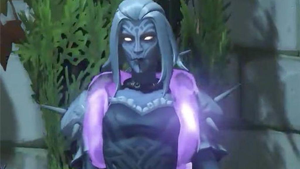 Moira recibe una nueva Halloween Terror  skin