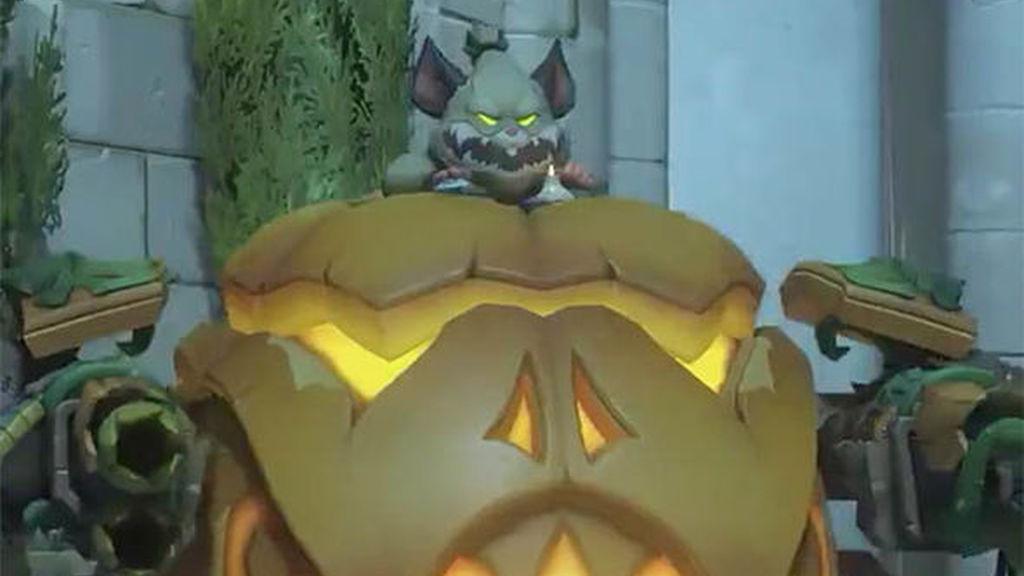 Wrecking Ball recibe una nueva Halloween Terror skin