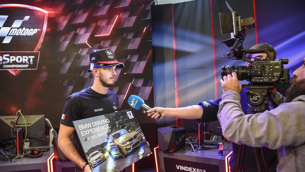 Las mejores imágenes de la segunda semifinal del MotoGP eSport Championship