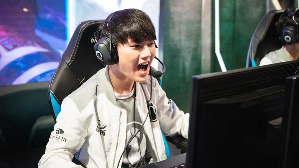 5- Yu 'JackeyLove' Wen-Bo, ADC de Invictus Gaming