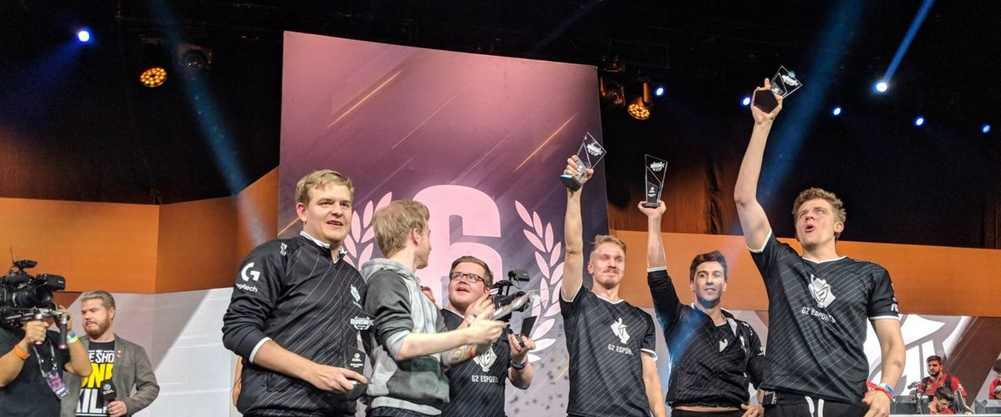 G2 Esports arrasa en la Pro League 2018 de Rainbow Six