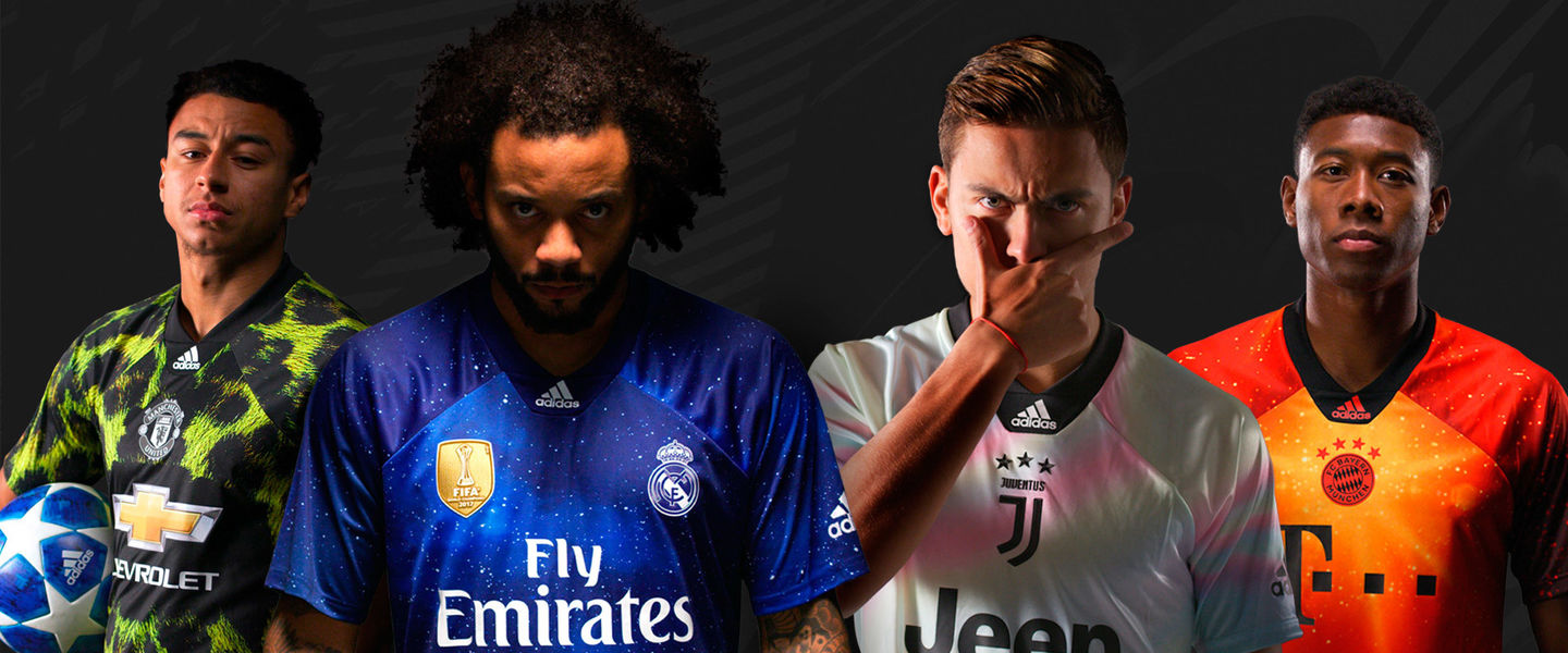 Adidas y EA lanzan una camiseta exclusiva del Real Madrid - Movistar ... 2af8c61e7f45b