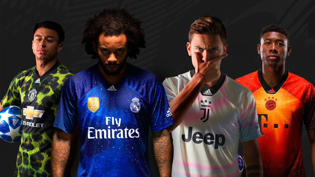 Adidas y EA lanzan una camiseta exclusiva del Real Madrid - Movistar eSports