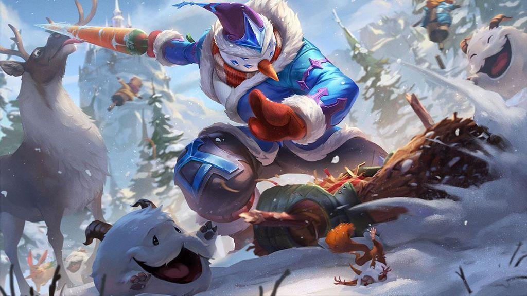 Maestro Yi muñeco de nieve