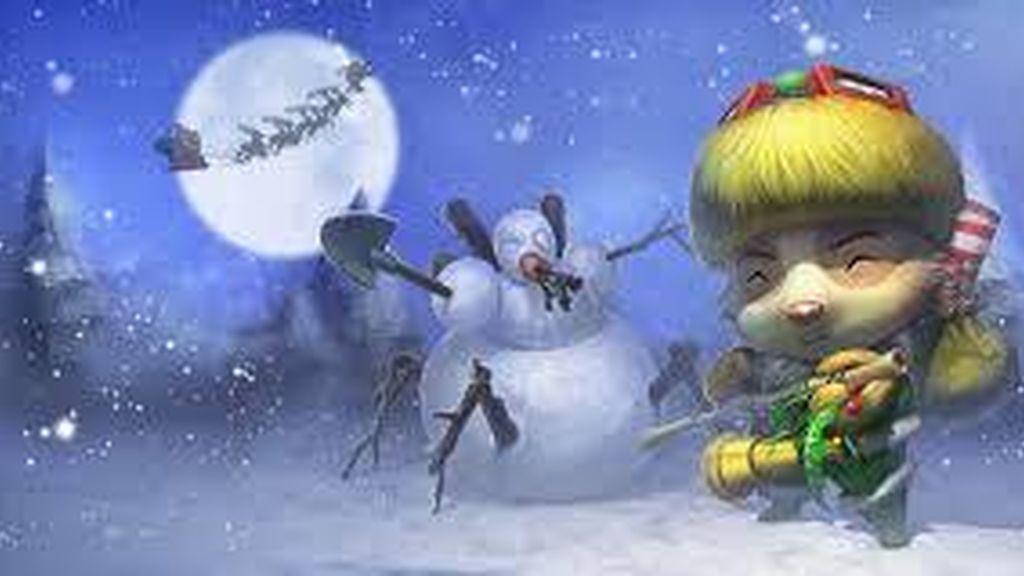 Teemo elfo feliz