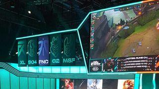 El Fnatic-SK Gaming se retrasó casi dos horas con motivo de un fallo en la conectividad de los ordenadores de Fnatic