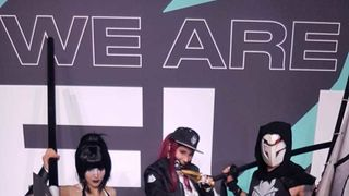 Los cosplays de G2 tampoco podían faltar en este debut