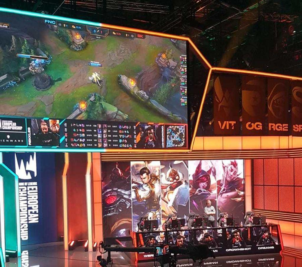 SK Gaming arrancó, con muy buen pie la primera jornada de LEC