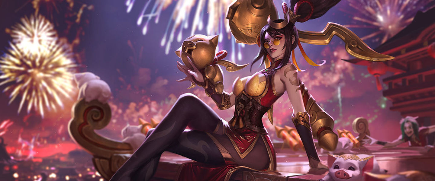 Las skins de League of  Legends del año nuevo chino