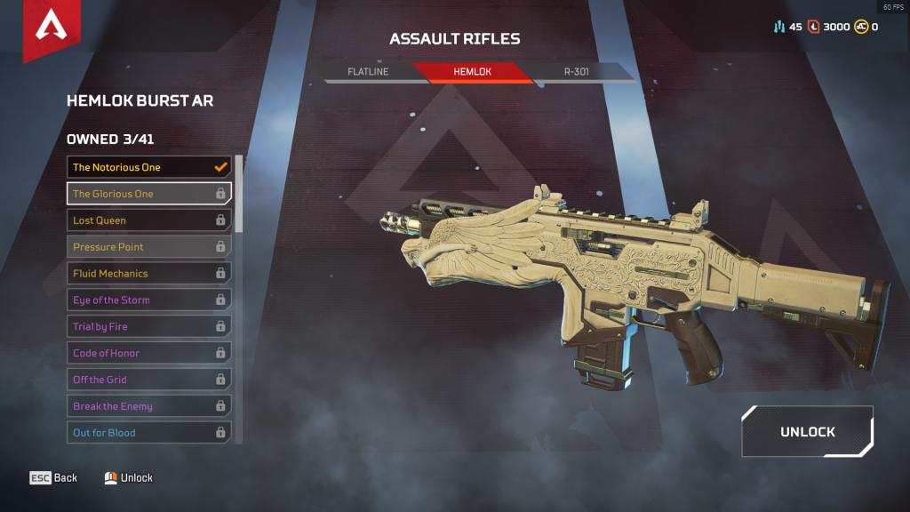 Hemlok Burst AR: The Glorious One