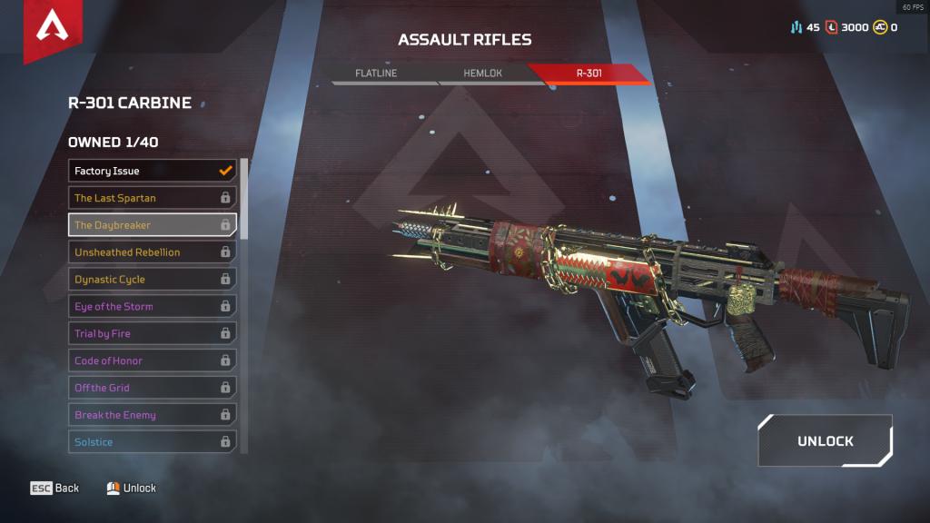 R-301 Carbine: The Daybreaker