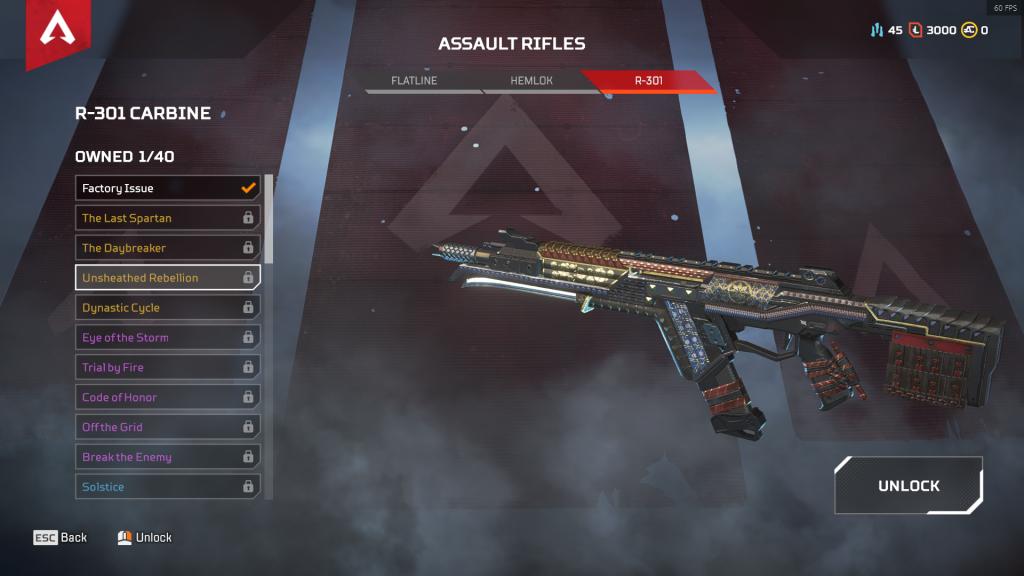 R-301 Carbine: Rebelión Desenfundada