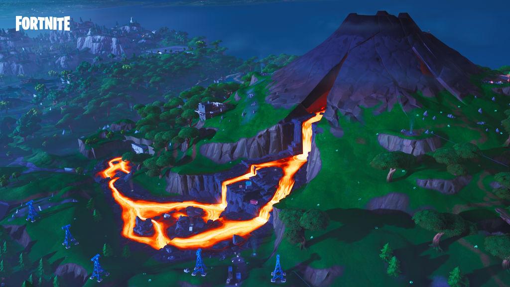 Así como el fuego y los volcanes.