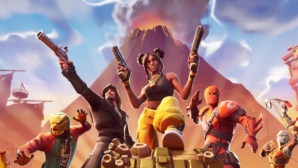 Volcanes, piratas y ninjas, lo nuevo de Fortnite.