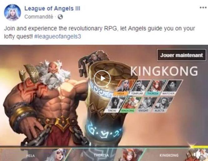 Selección de personajes de League of Angels III